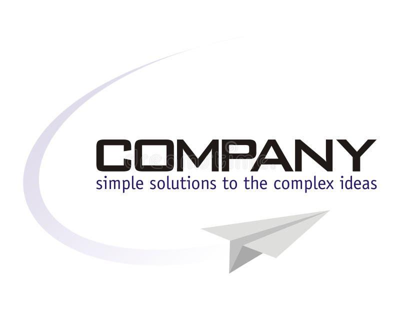 Логос - провайдер разрешения иллюстрация вектора
