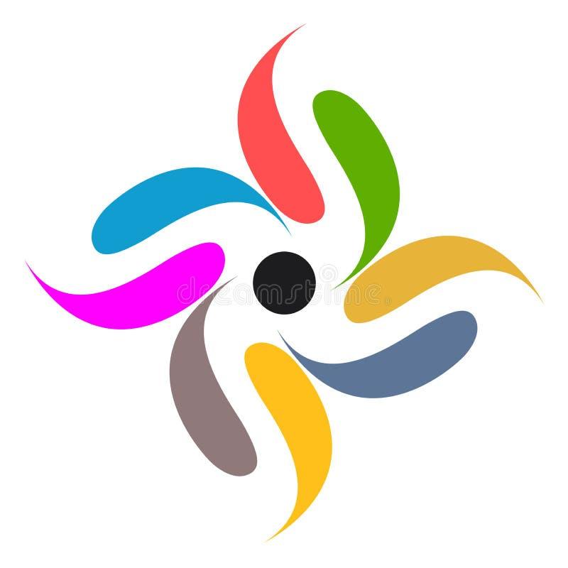 логос самомоднейший иллюстрация штока