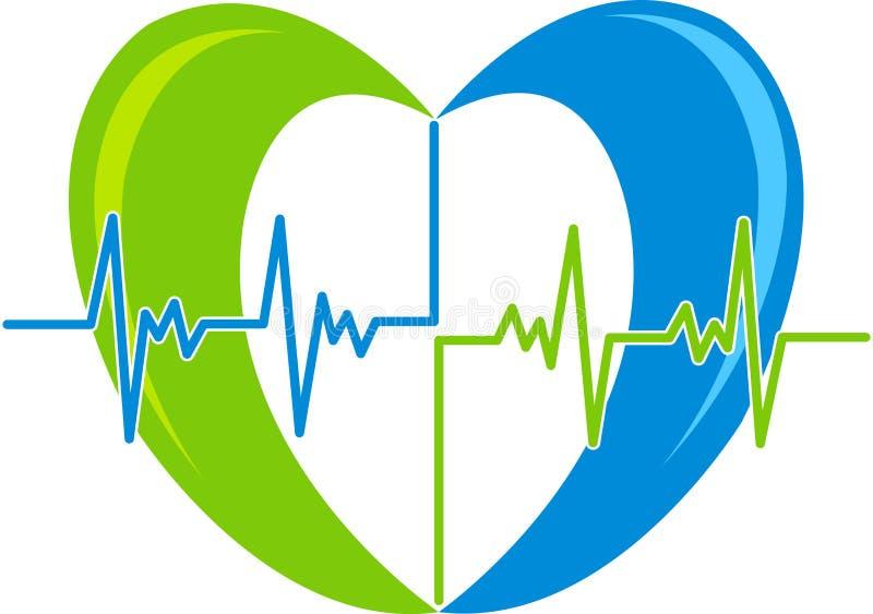 Логос сердца свеклы иллюстрация вектора