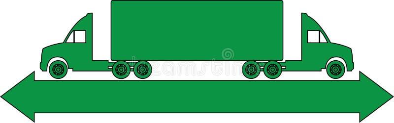 Логос тележки бесплатная иллюстрация