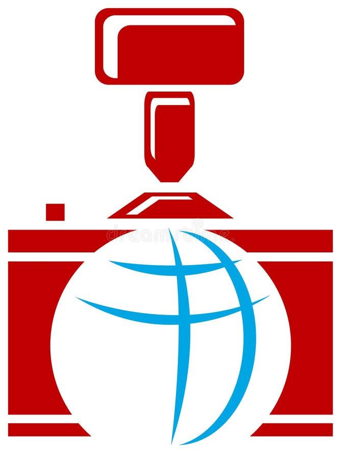 логос фотографический иллюстрация штока