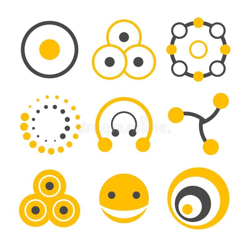 логос элементов круга