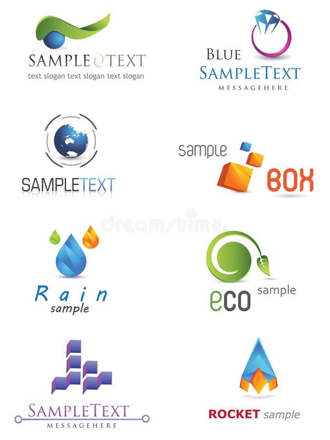 логос 3D бесплатная иллюстрация