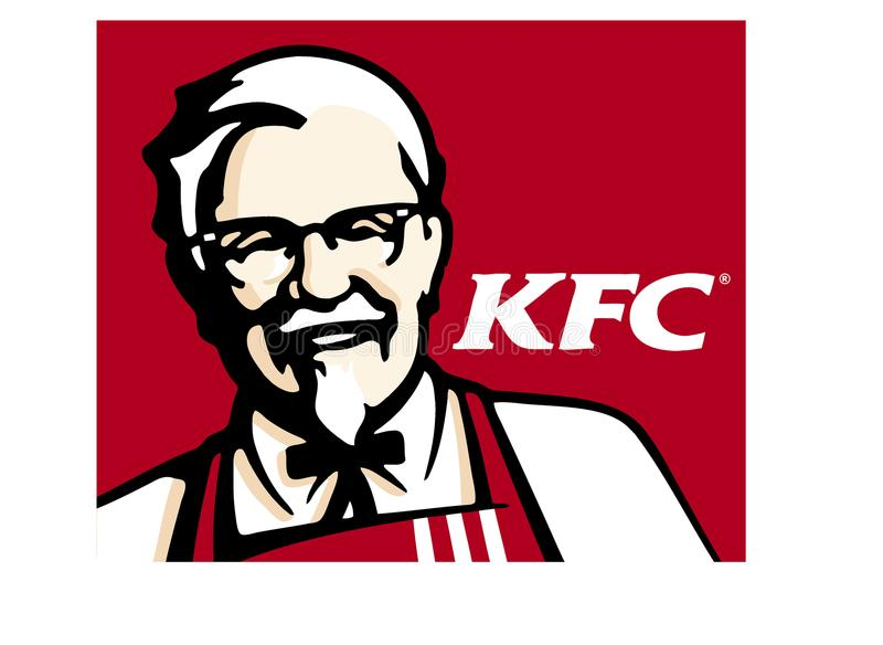 Логос Kfc бесплатная иллюстрация