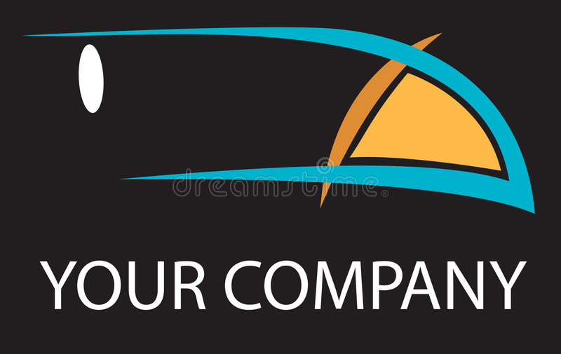 логос toucan иллюстрация штока
