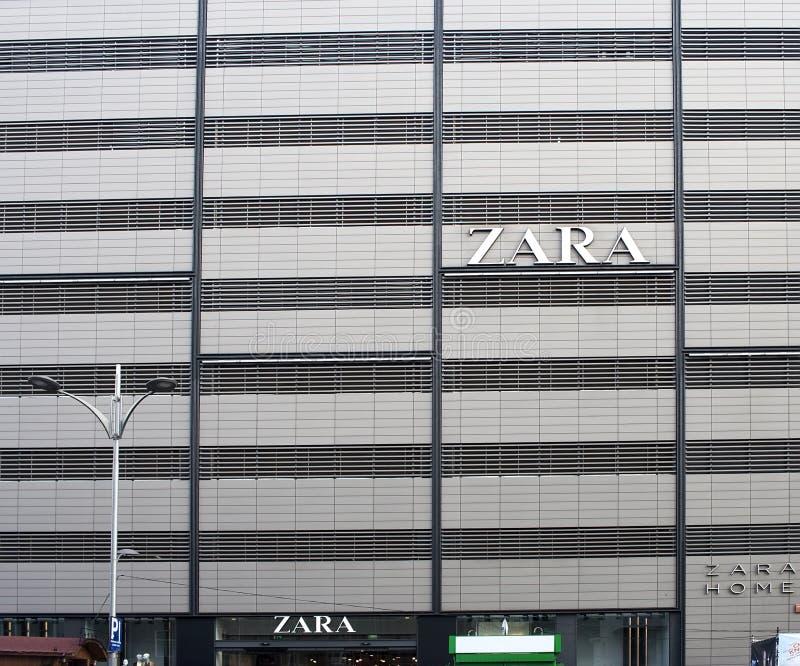 Логос Zara стоковая фотография rf