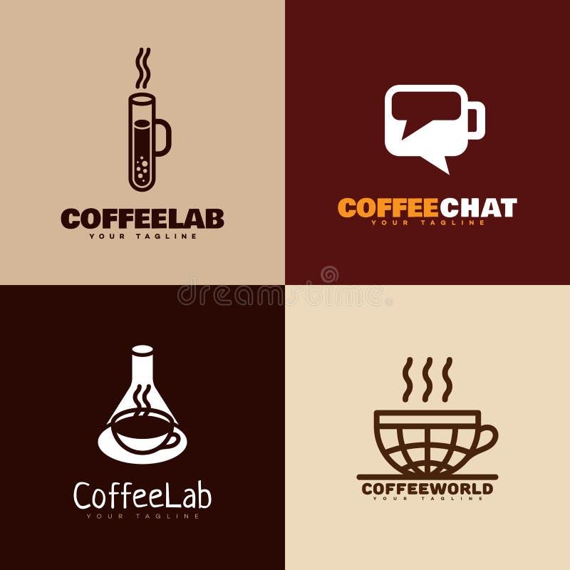 Логотипы кофе бесплатная иллюстрация