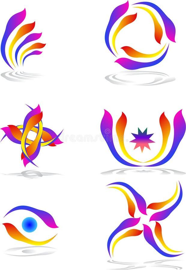 Логотипы природы бесплатная иллюстрация