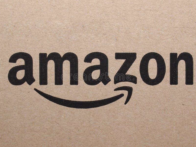 Логотип Амазонки стоковые изображения
