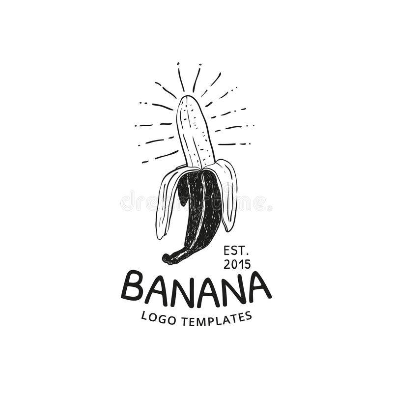 Логотип банана бесплатная иллюстрация