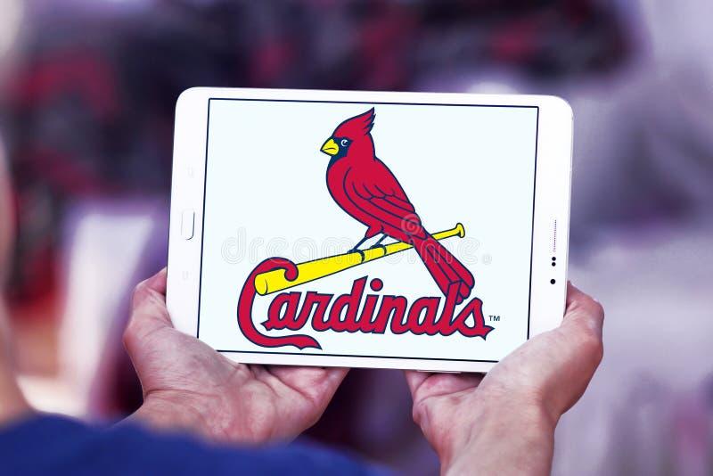 Логотип бейсбольной команды кардиналов Сент-Луис стоковые фотографии rf