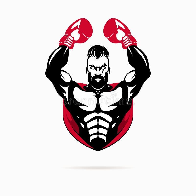 Логотип бокса бесплатная иллюстрация