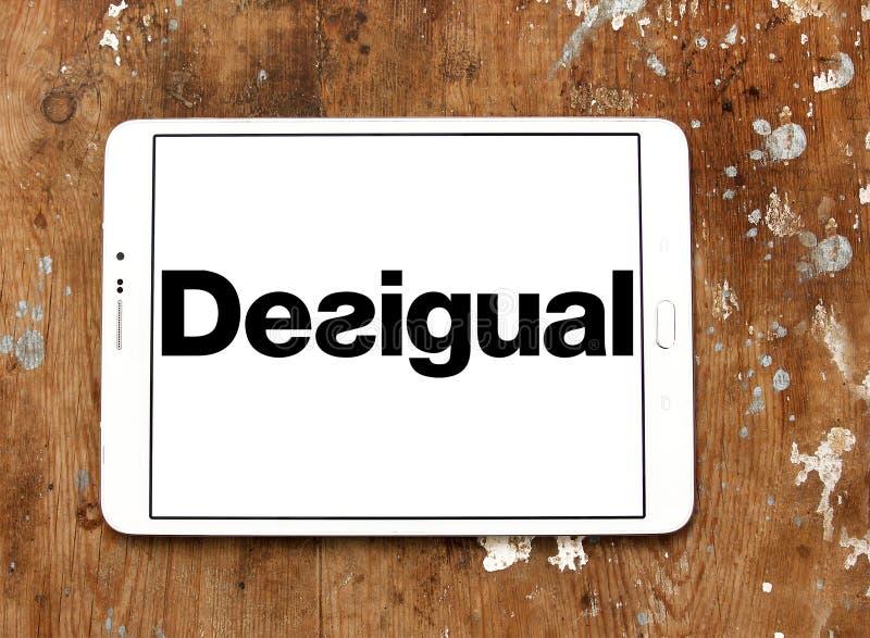 Логотип бренда моды Desigual стоковые изображения