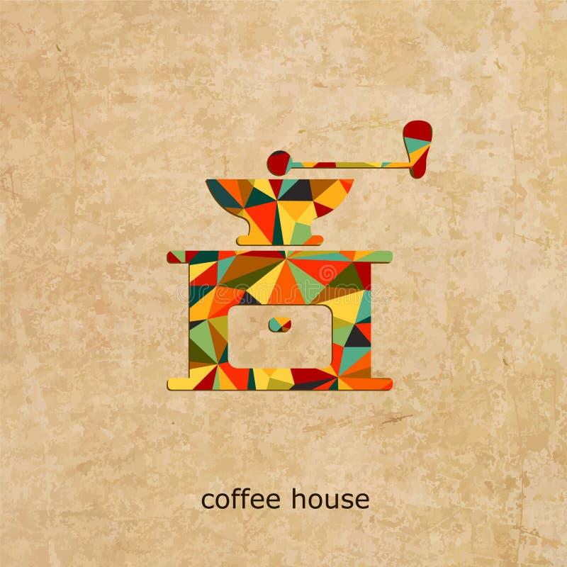 Логотип вектора кофейни бесплатная иллюстрация
