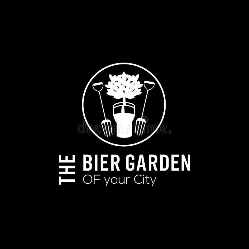 Логотип вектора пива бесплатная иллюстрация
