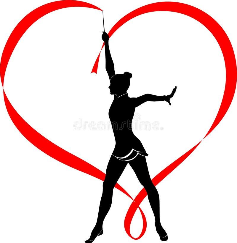 Силуэт художественная гимнастика