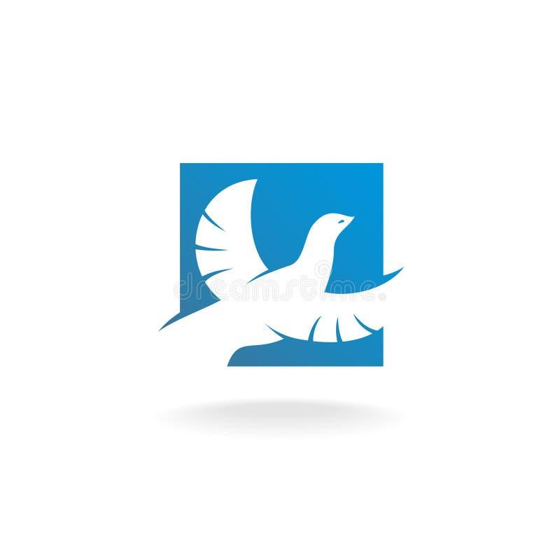 Логотип голубя бесплатная иллюстрация