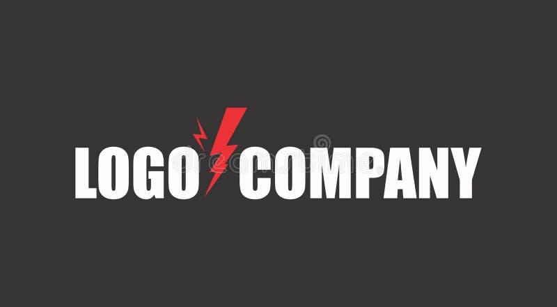 Логотип грома электричества бесплатная иллюстрация