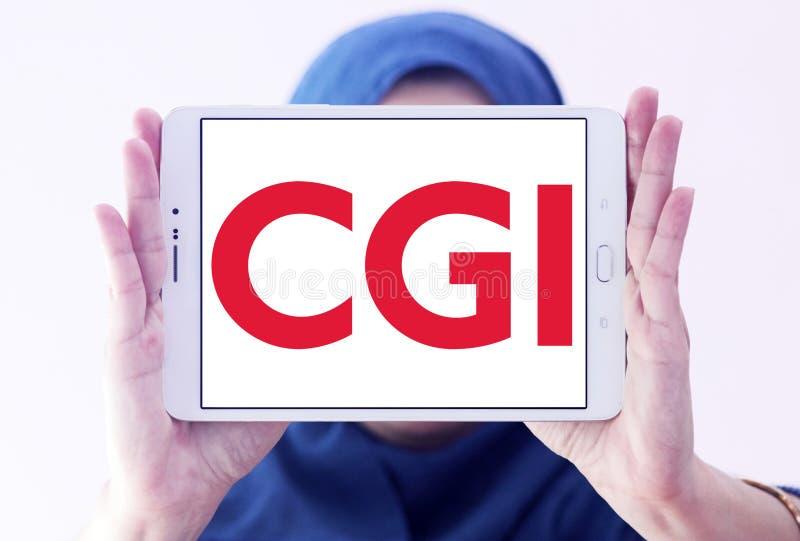 Логотип группы CGI стоковые фотографии rf