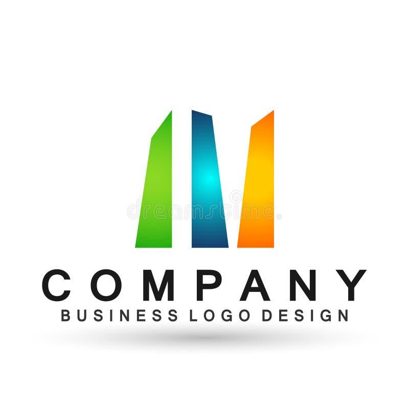 Логотип дела конспекта квадратный форменный, соединение на корпоративном инвестирует дизайн логотипа дела Финансовые инвестиции н бесплатная иллюстрация