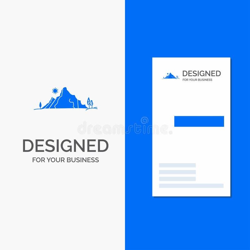 Логотип для горы, ландшафт дела, холм, природа, дерево r бесплатная иллюстрация