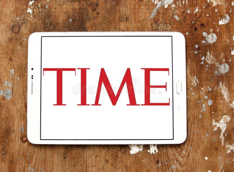 Логотип журнала Тайм стоковые фото