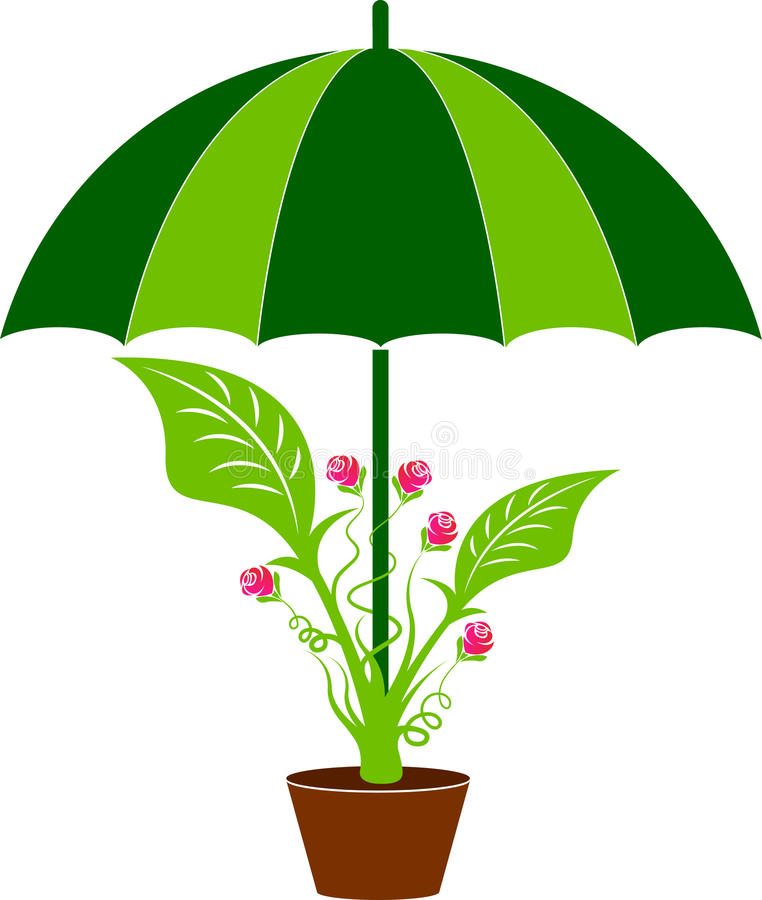 Логотип заботы лист бесплатная иллюстрация