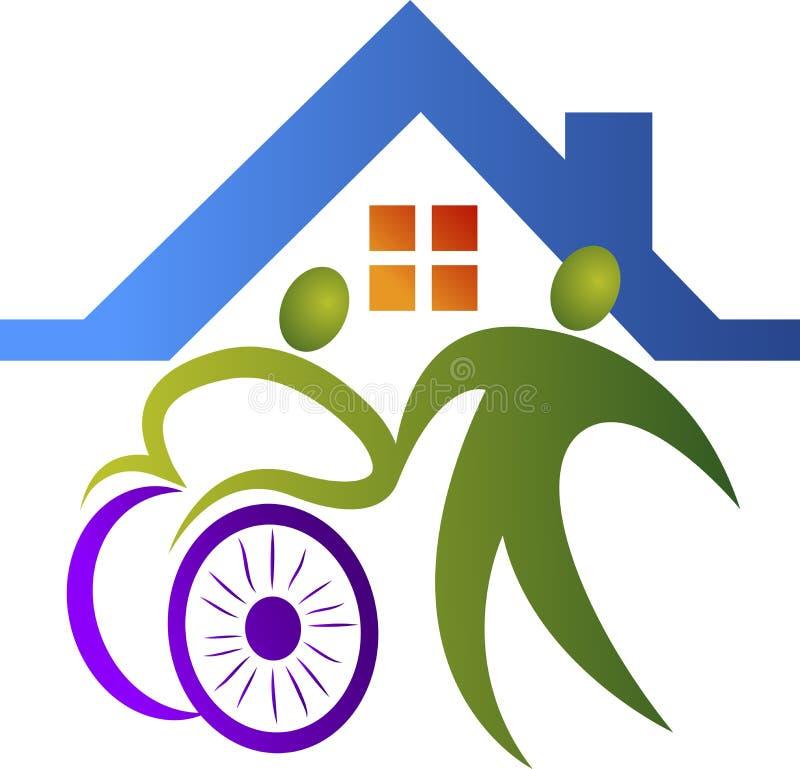 Логотип заботы отключения бесплатная иллюстрация