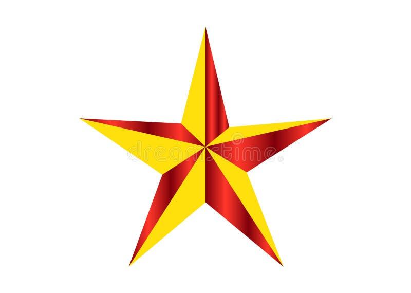 Логотип звезды праздника иллюстрация вектора