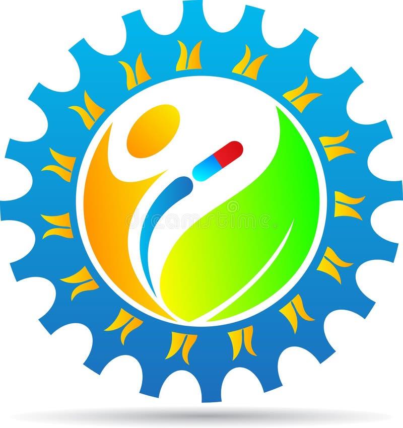 Логотип земледелия иллюстрация вектора