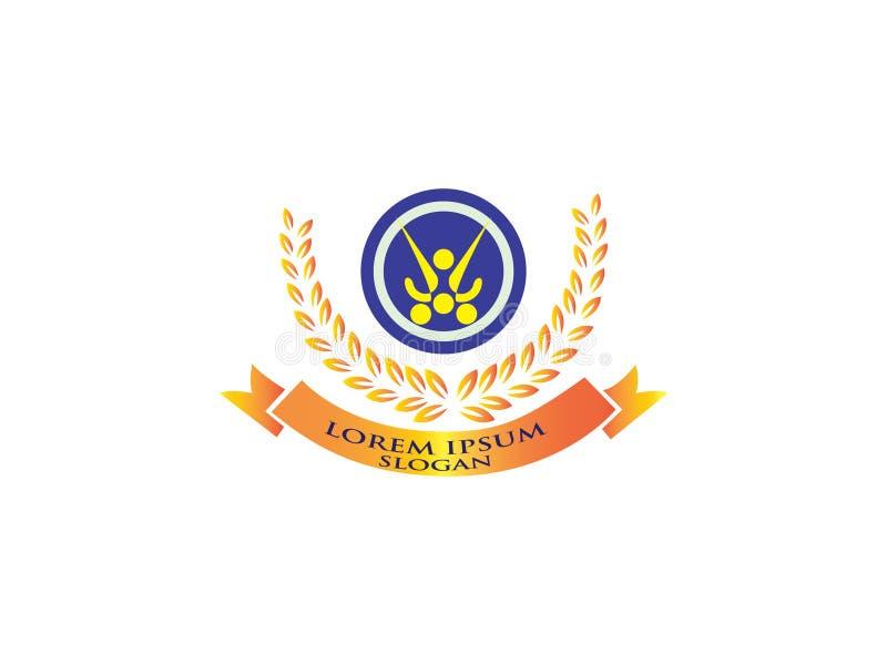 Логотип игры работы команды Знак общины Символ единства Штат компании Общественная организация Хорошие коллеги отношения иллюстрация штока