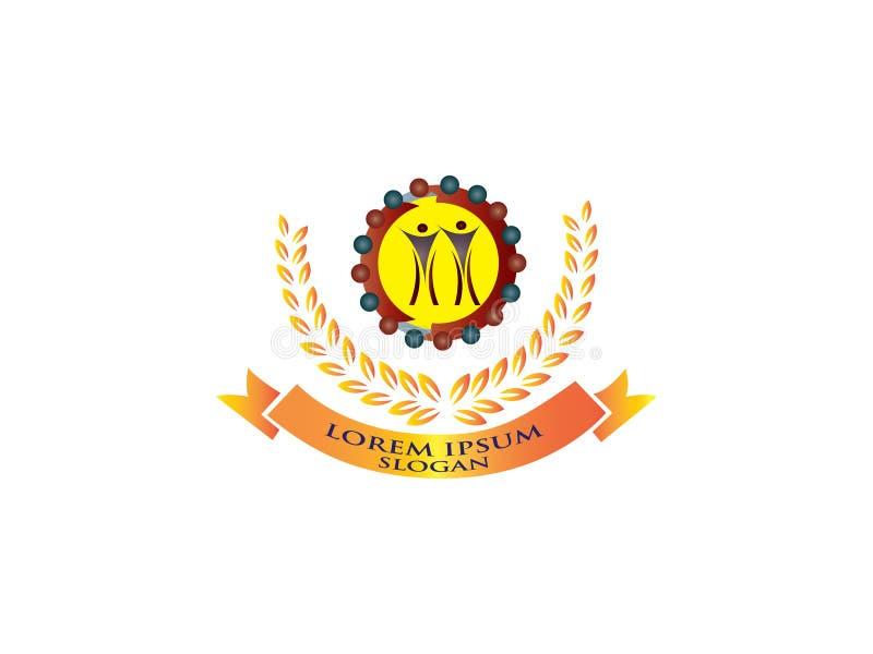 Логотип игры работы команды Знак общины Символ единства Штат компании Общественная организация Хорошие коллеги отношения бесплатная иллюстрация