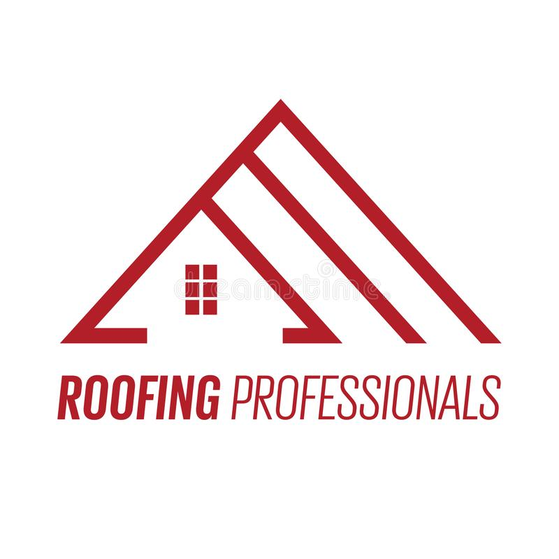 Логотип или знак крыши дома бесплатная иллюстрация