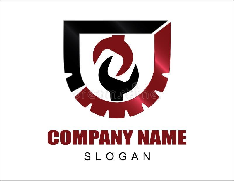 Логотип Инструментов Компании иллюстрация штока
