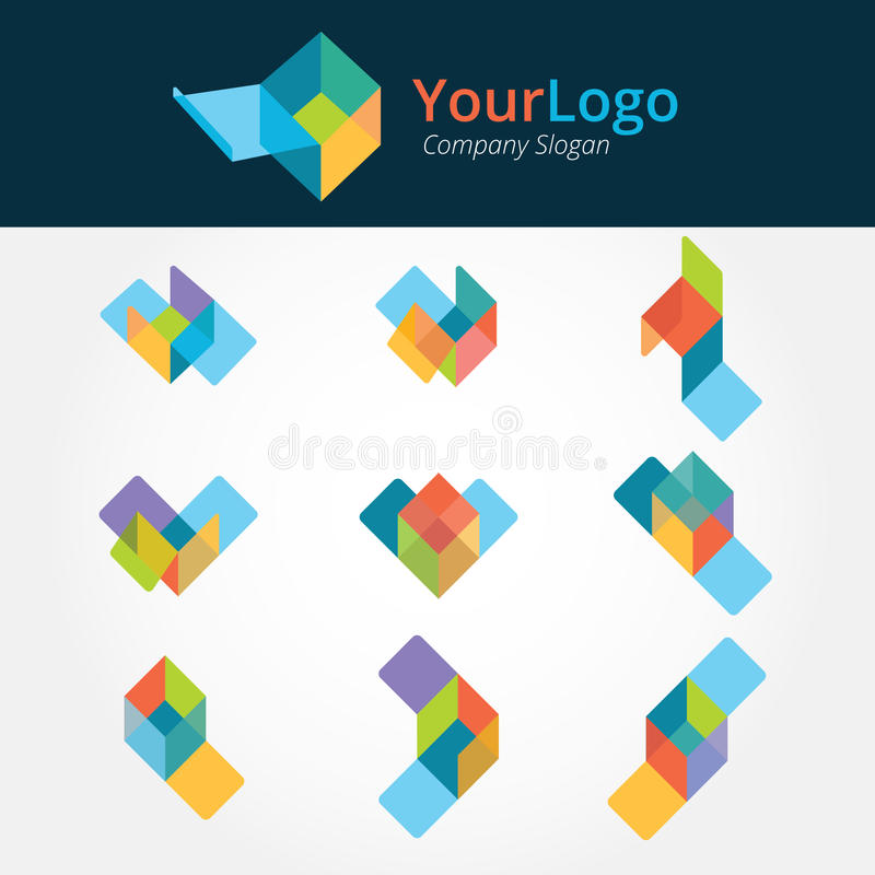 Логотип и графический дизайн иллюстрация вектора