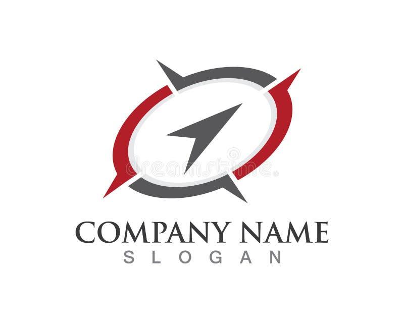Логотип и символы компаса бесплатная иллюстрация