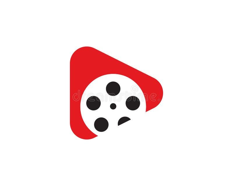 Логотип кино иллюстрация вектора