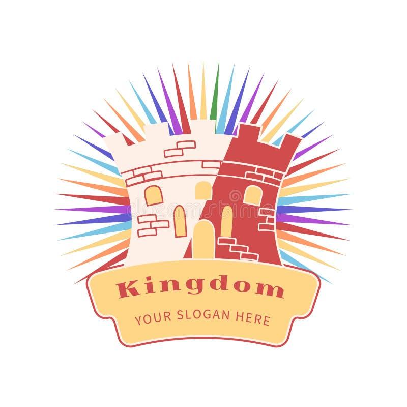 Логотип компании королевства иллюстрация штока