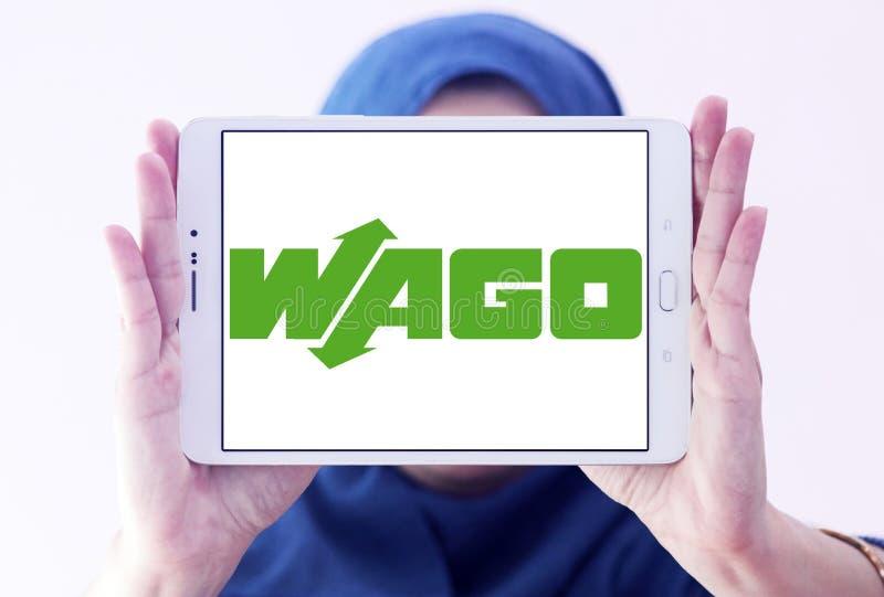 Логотип компании по продаже электроники WAGO стоковые фотографии rf