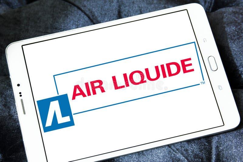 Логотип компании Liquide воздуха стоковое фото rf