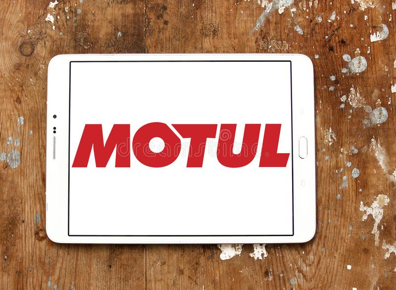 Логотип компании Motul стоковое фото rf