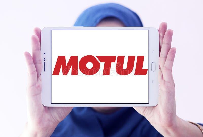 Логотип компании Motul стоковые изображения rf