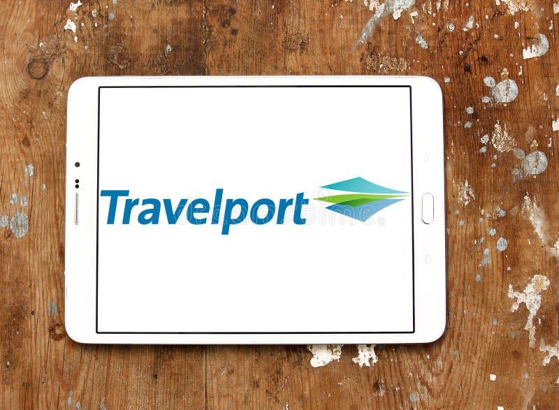Логотип компании Travelport стоковые фото