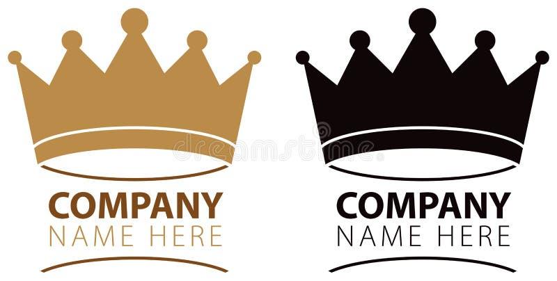 Логотип кроны бесплатная иллюстрация