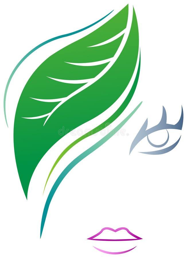 Логотип КУРОРТА иллюстрация вектора