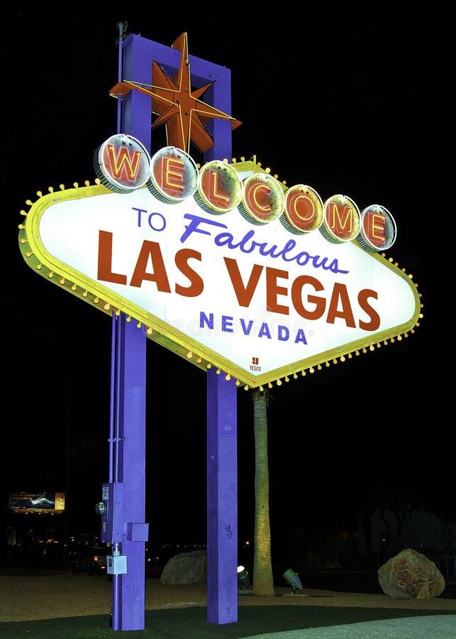 Логотип Лас-Вегас стоковое фото