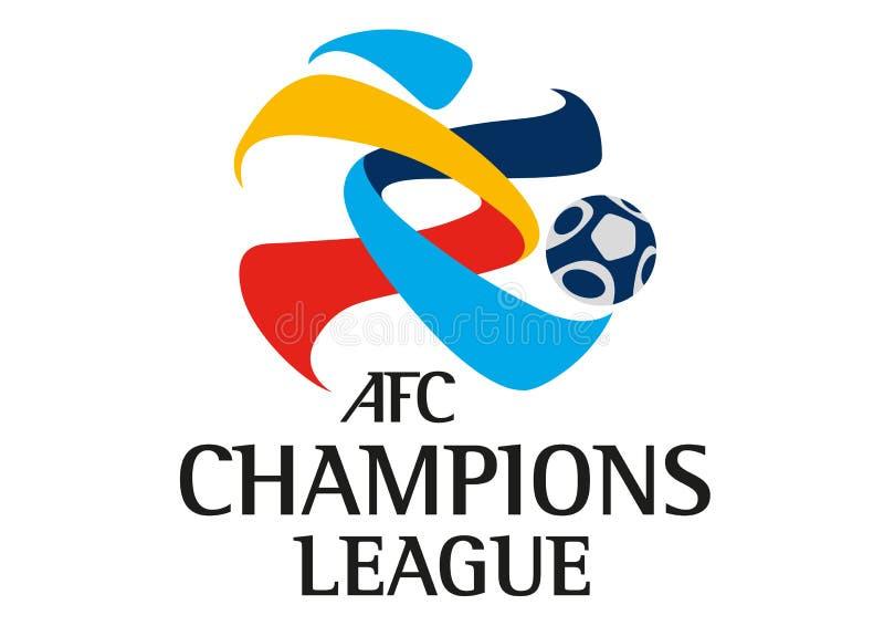 Логотип Лиги чемпионов AFC иллюстрация вектора