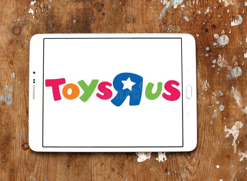 Логотип магазина детей Тоыс Р Ус стоковая фотография rf