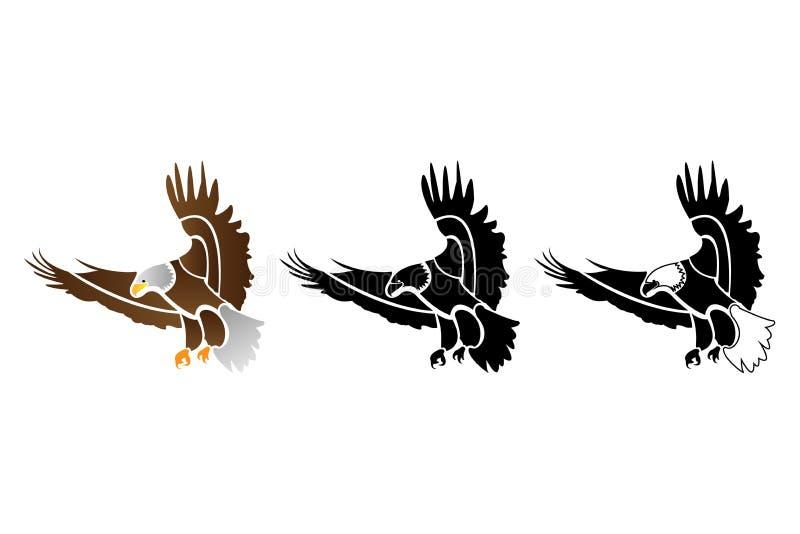 Логотип орла иллюстрация штока
