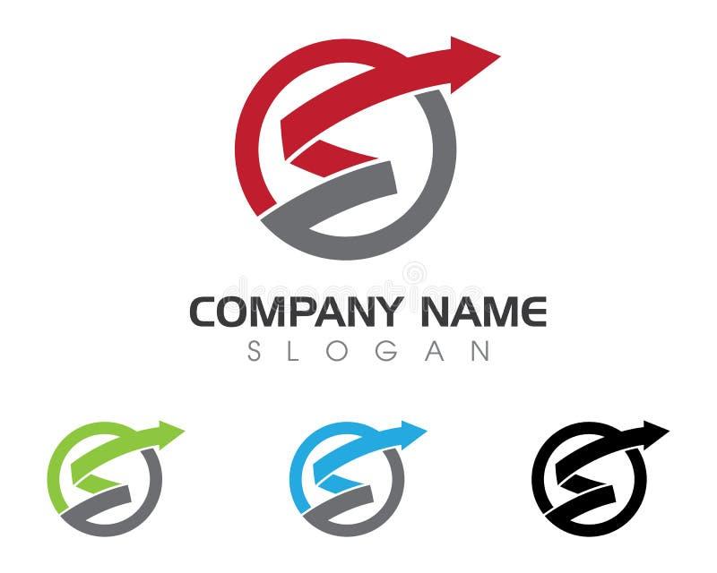 Логотип письма s иллюстрация вектора